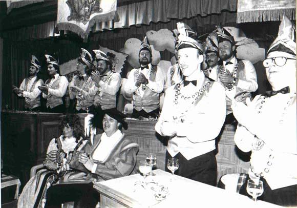 Bild der 1. Prunksitzung